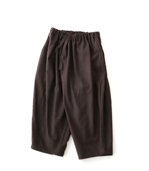 Veritecoeur / Wool Flannel Pants