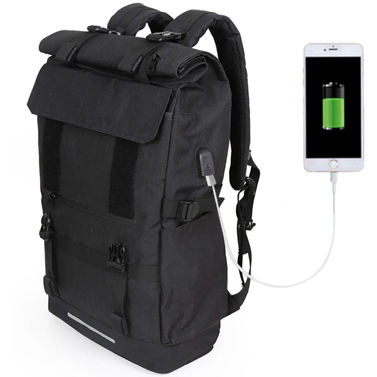 FOX FOUND バックパック メンズ USBポート リュックサック 大容量 登山 40L 3way ビジネスリュック タウンリュック