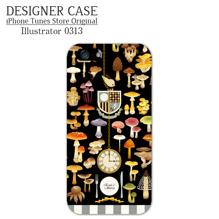 iPhone6 Soft case[Kinoko no shokutaku] Illustrator:0313