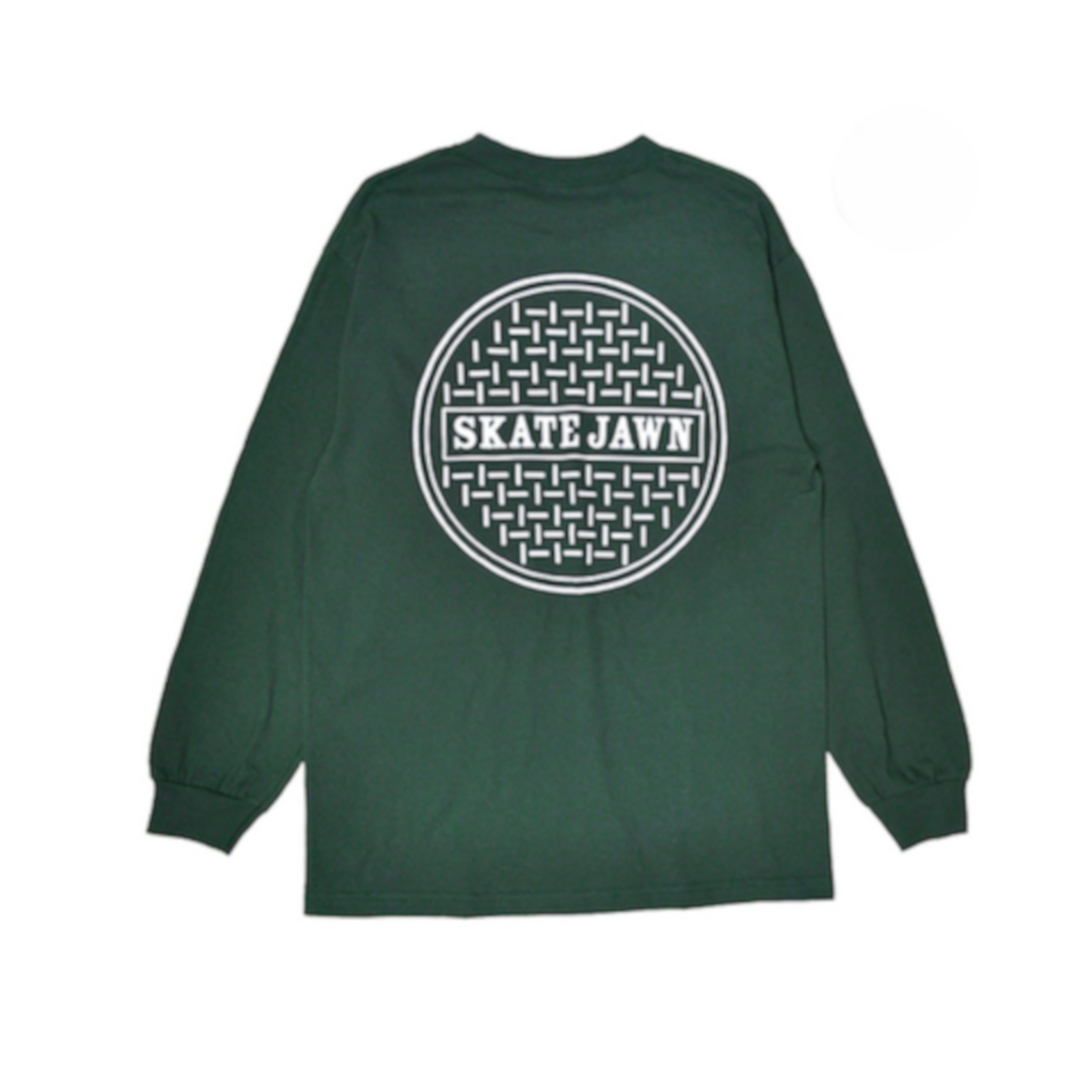 SKATE JAWN 【SEWER CAP L/S TEE】
