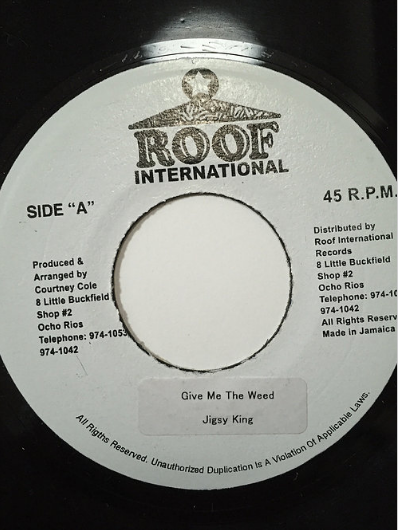 Jigsy King(ジグシーキング) – Give Me The Weed【7'】