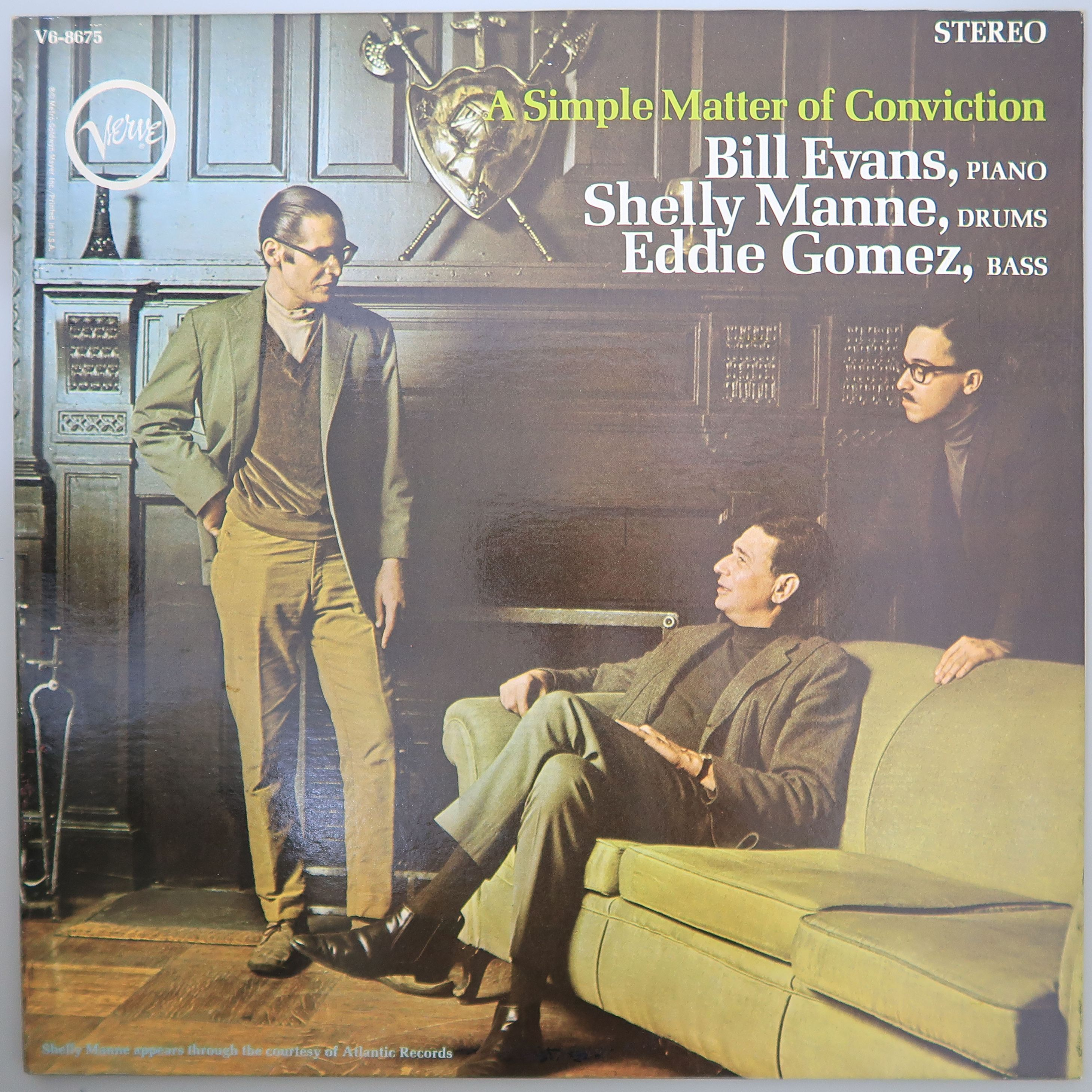 BILL EVANS / A SIMPLE MATTER OF CONVICTION  米オリジナル
