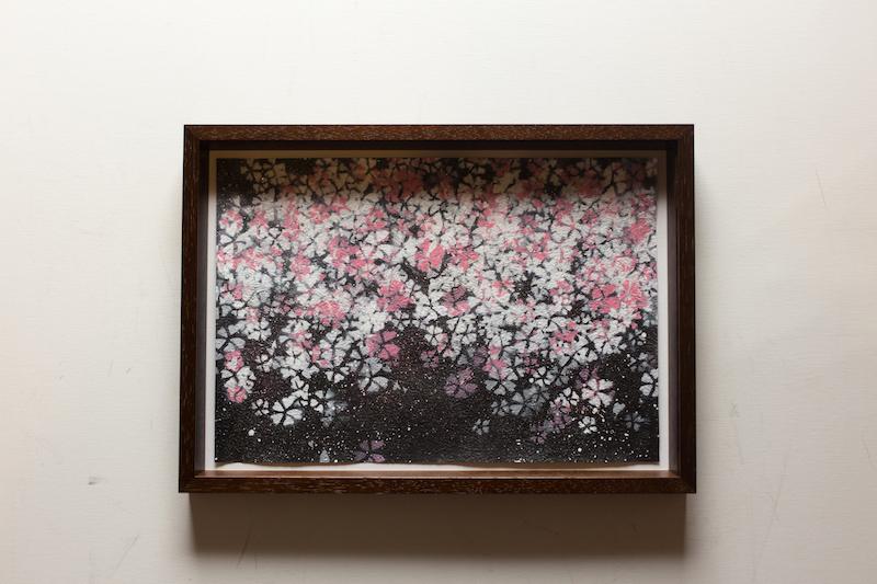 Sakura (和紙・額入り特別作品)