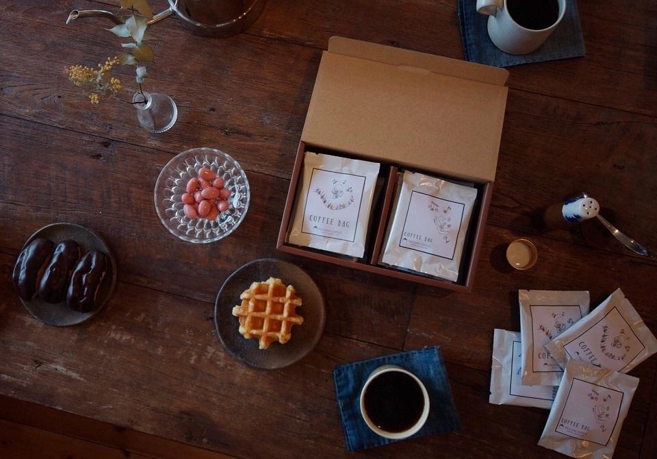 【のし・包装OK】 ティーバッグコーヒー2種の珈琲詰め合わせ 10杯ギフトセット