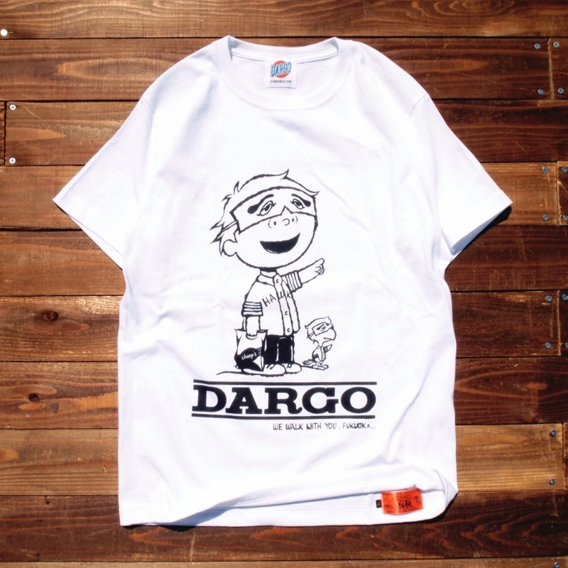 "【DARGO】""FUKUOKA CITY"" T-shirt (WHITE)"