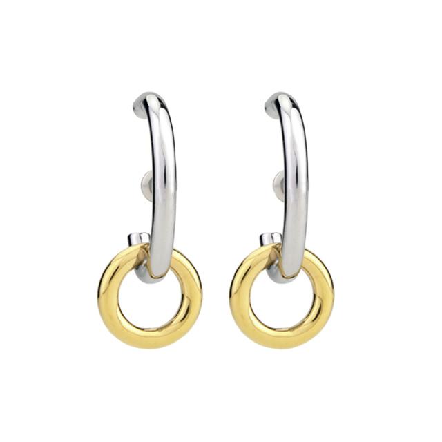 link pierce<silver×gold>
