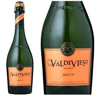低価格で高品質コスパGOOD【チリ】バルディビエソ ブリュット【泡立ち抜群の辛口スパークリングワイン】