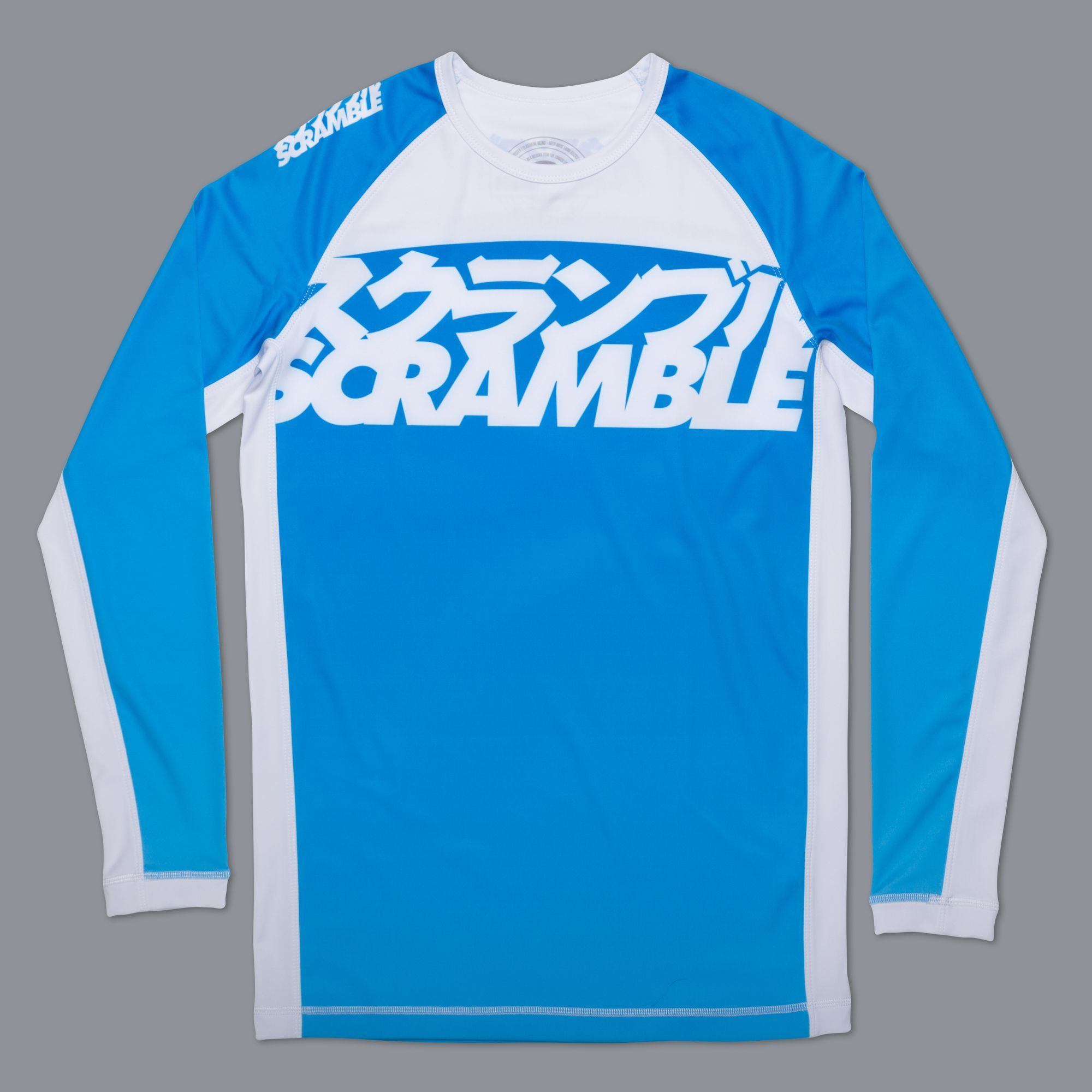 SCRAMBLE RANKED RASHGUARD V3 –ライトブルー