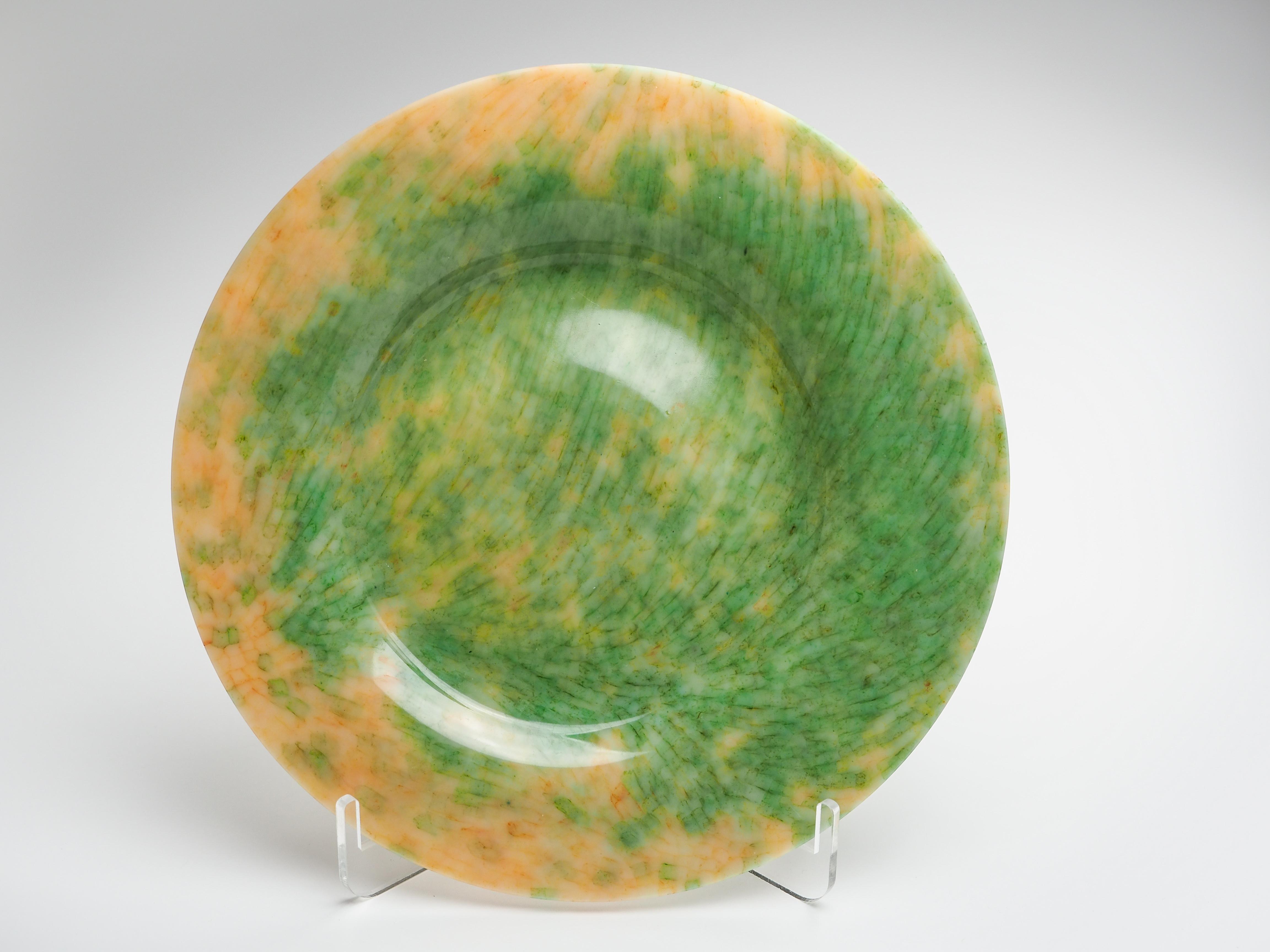 平皿-N(オレンジ×黄緑)fp-n-5