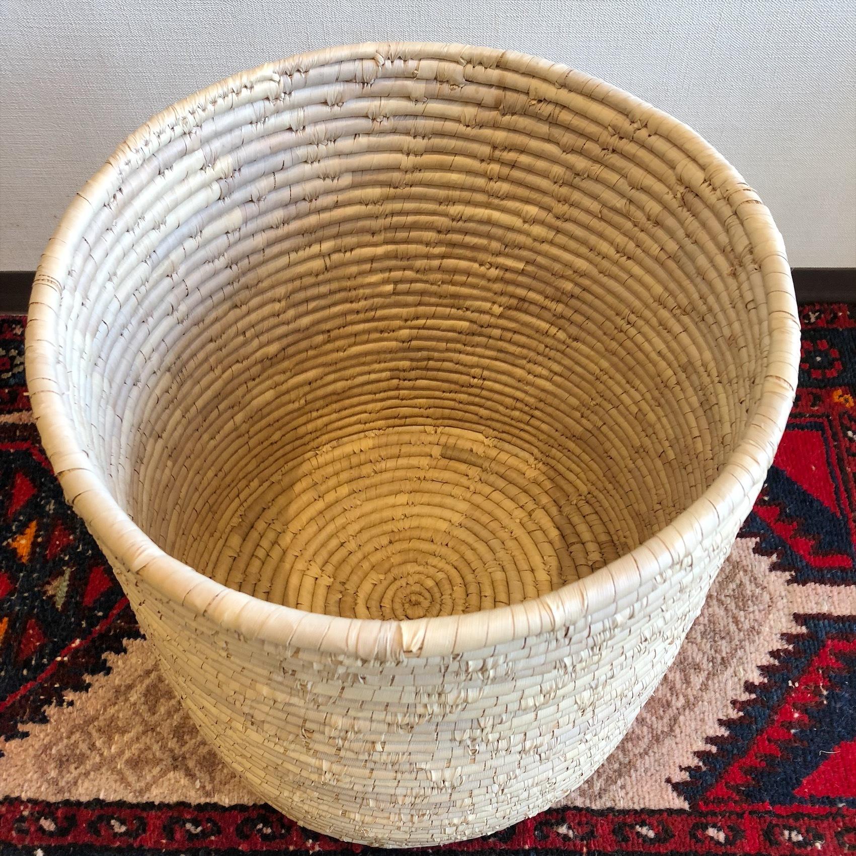 水草筒型バスケット