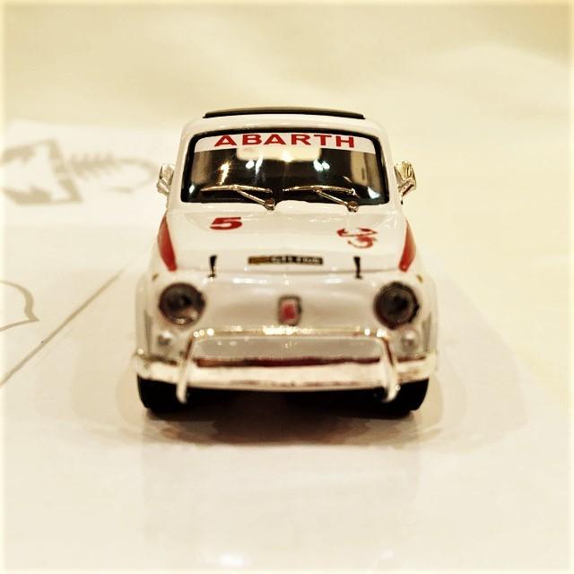 FIAT ABARTH 595L 1/43 【Cararama】【1個のみ】【税込価格】