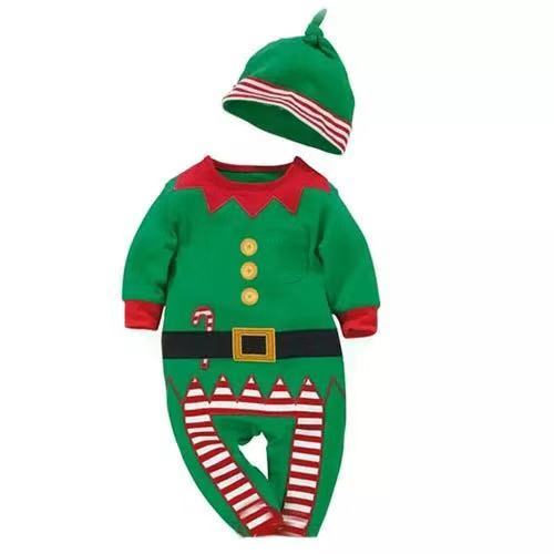 d818d7a9d20e7 ベビーロンパースサンタ衣装クリスマスコスプレ着ぐるみ赤ちゃんコスチューム コスプレ