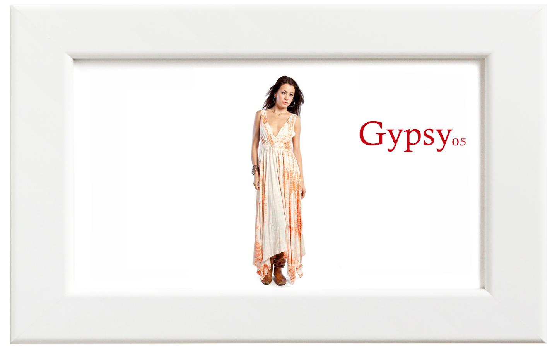 Gypsy05/ジプシー05 ALLIGATORマキシドレス/コーラル【在庫限り】