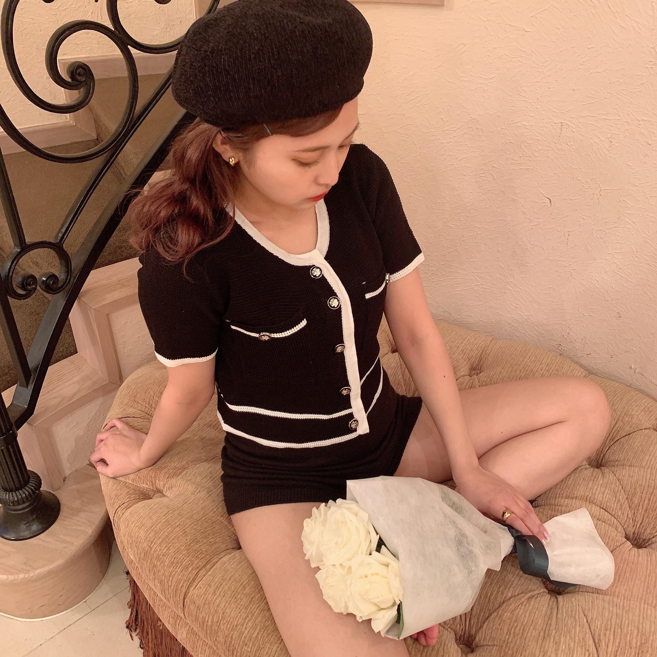classical summer knit cardigan