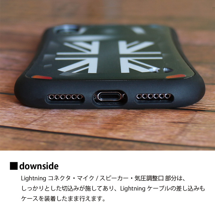 314c29a00a MRLab iPhone ケース カッコイイ 【 ミニクーパー MINICOOPER 耐衝撃 バンパー 】iPhoneXR / iPhoneXS /  iPhoneX / iPhone8 / iPhone7