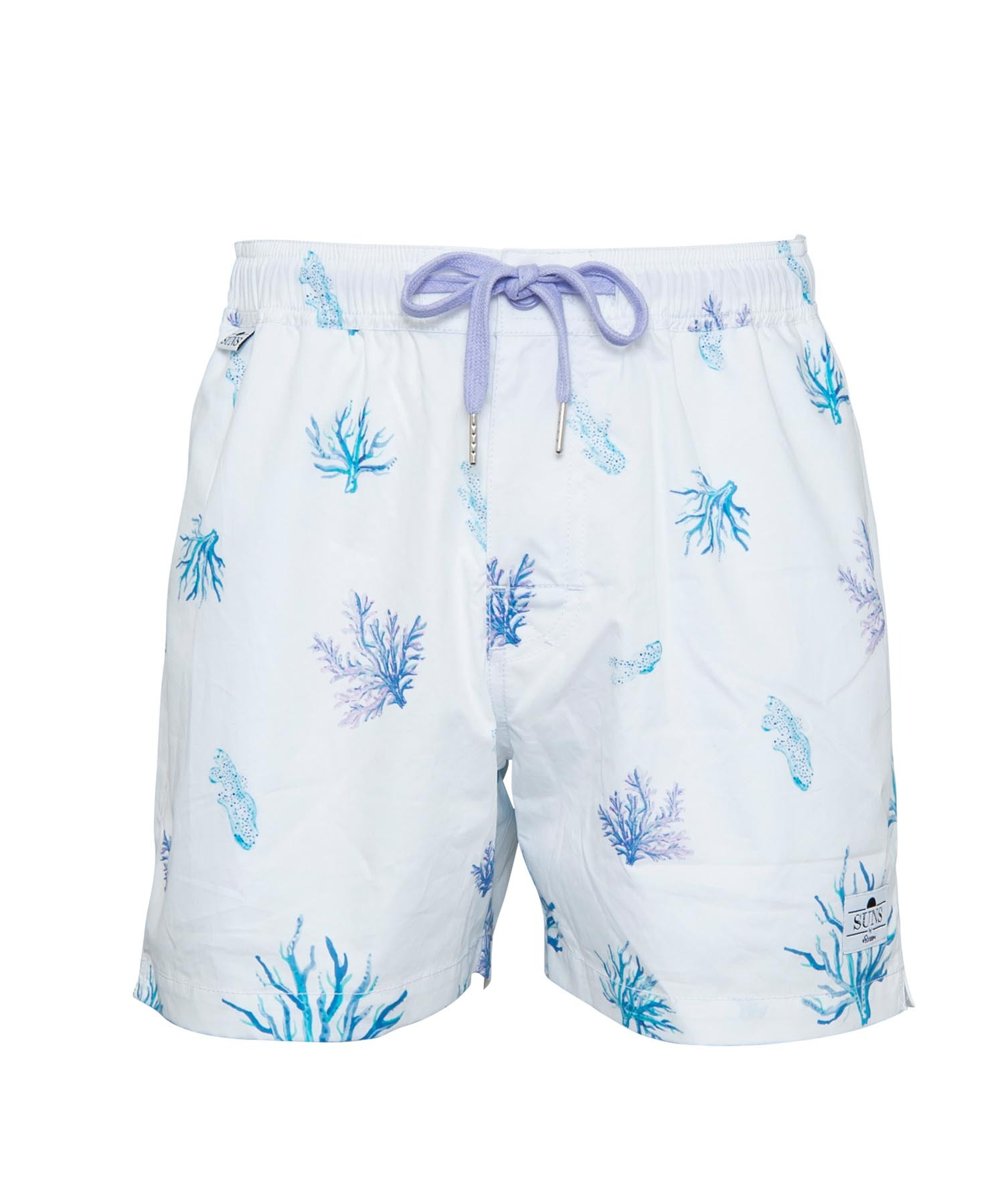 SUNS CORAL PATTERN SWIM SHORTS[RSW028]