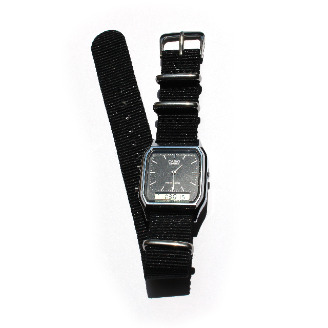 CASIO BASIC WATCH DIGI-ANA 02 / NATO-type Strap