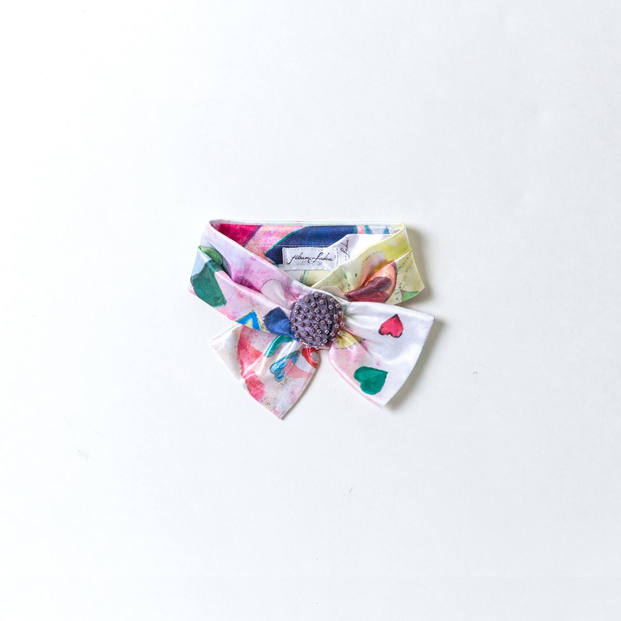 jibun-fuku DOG 【リボンカラーbeads】 DOGRB201855