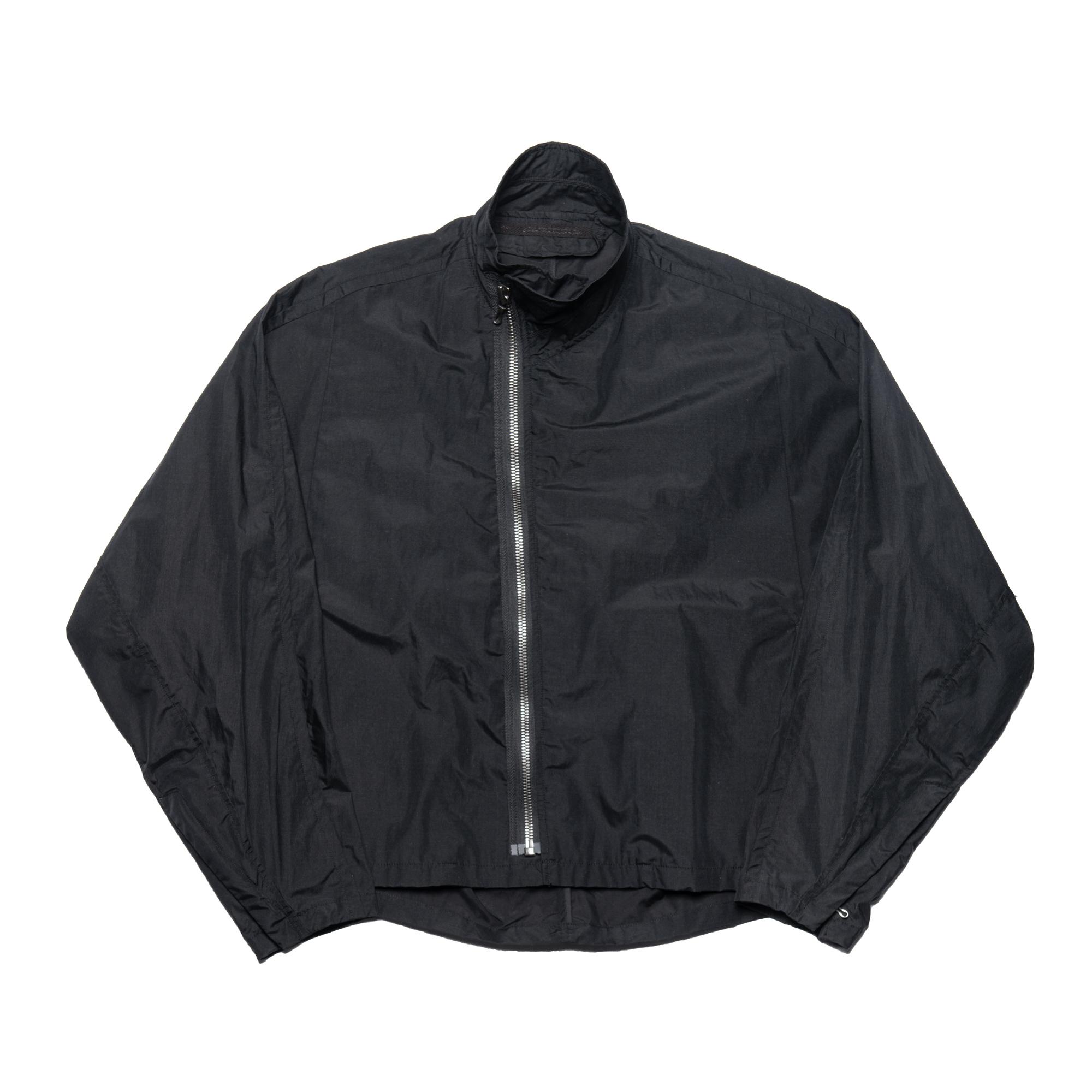 657BLM16-BLACK / カバードネックジャケット