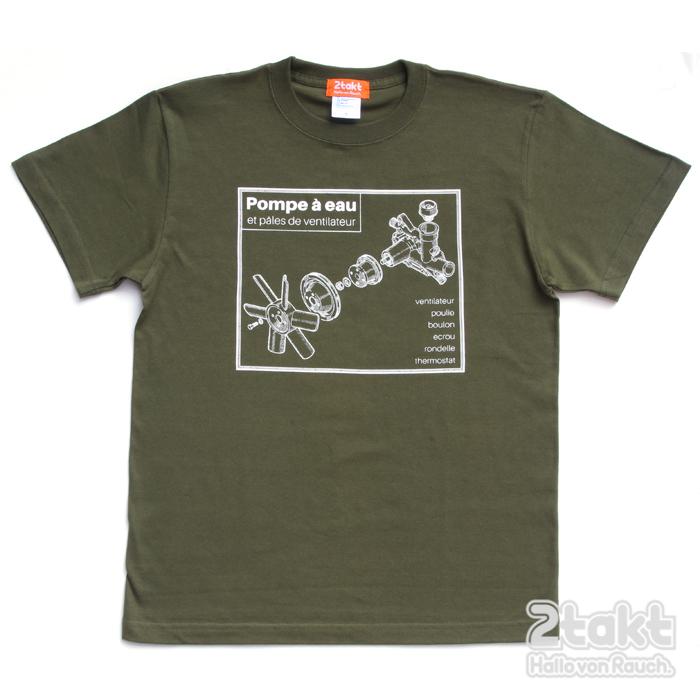 2takt T-shirts/Pompe à eau
