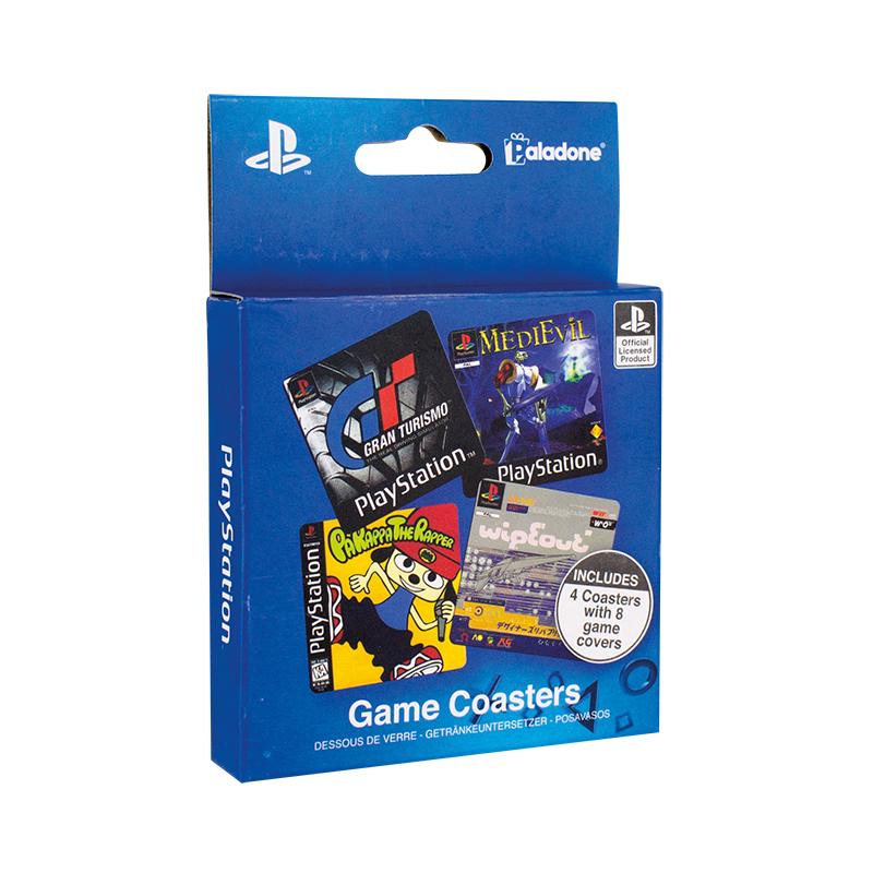 PLAYSTATION GAME COASTERS (プレイステーション ゲームコースター) / Paladone