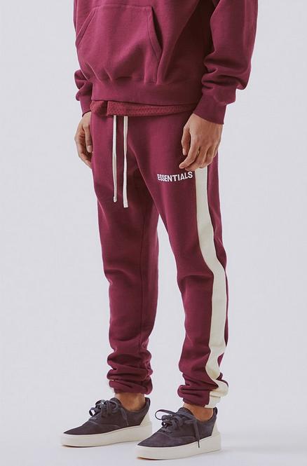 Fear Of God FOG Essentials Side Stripe Sweatpants
