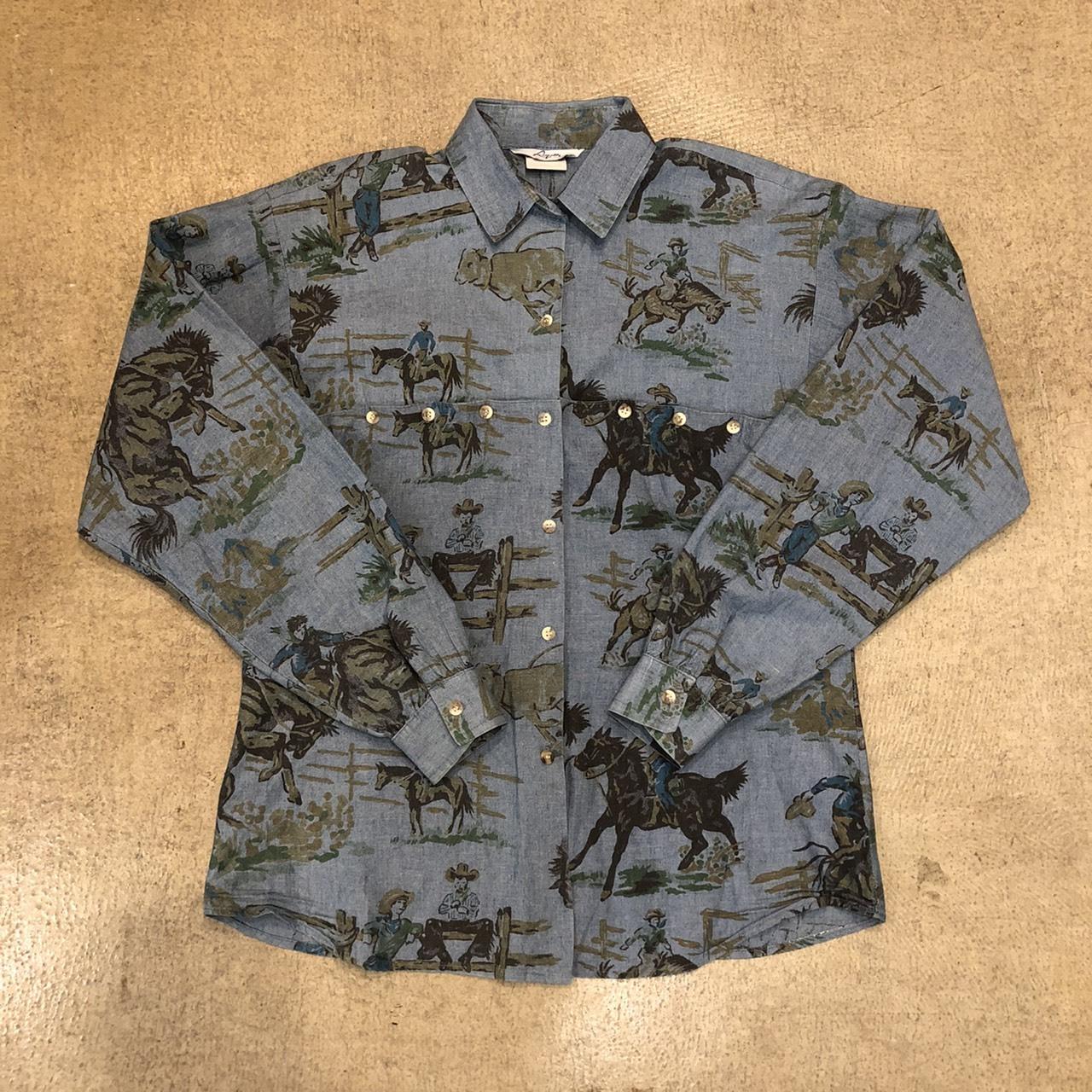 Vintage Western Cowboy Shirts ¥5,800+tax