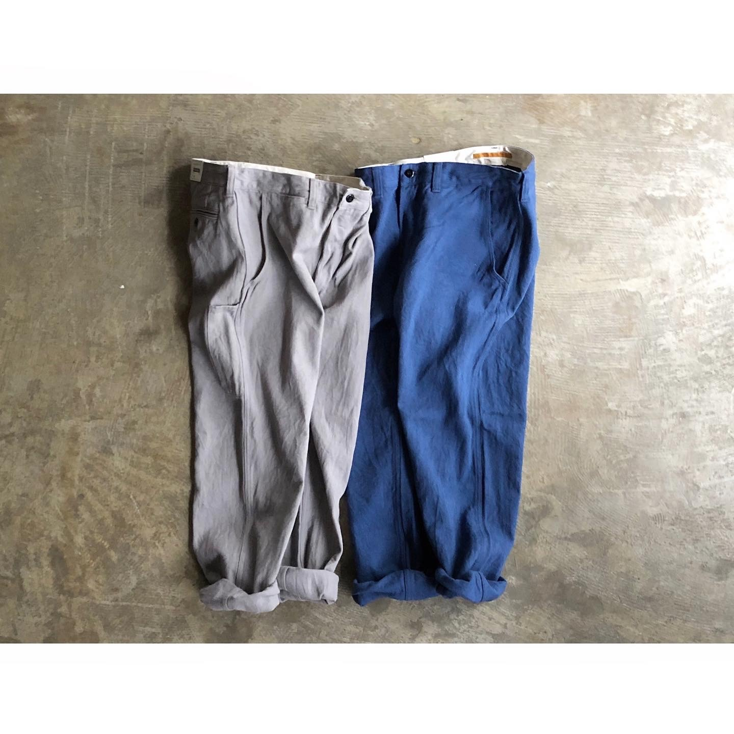 another 20th century (アナザートゥエンティースセンチュリー) Yorkshire Daily Pants C/Linen