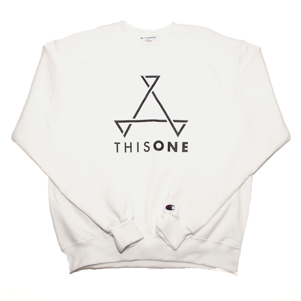 THISONE SWEAT (WHITE)