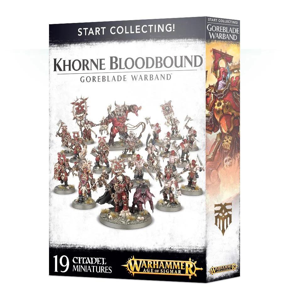 【ウォークライでもok!】Start Collecting! Khorne Bloodbound Goreblade Warband