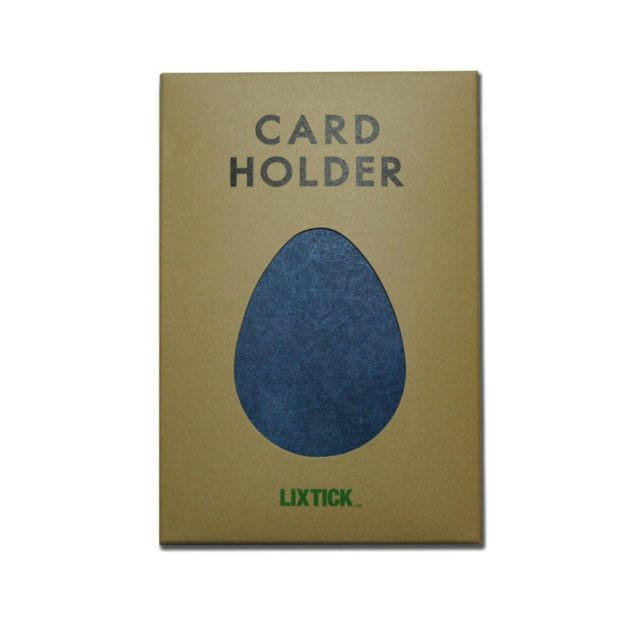LIXTICK PAPER CARD HOLDER – NAVY  /  LIXTICK