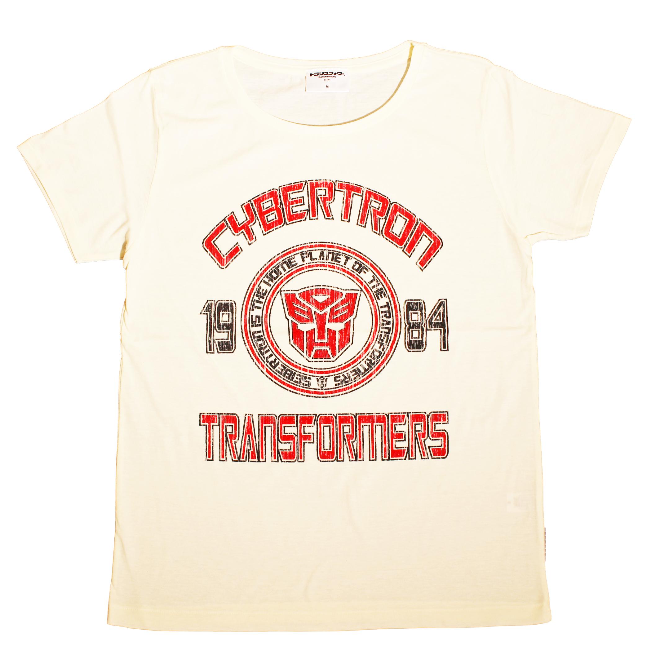 【トランスフォーマー】戦え!超ロボット生命体トランスフォーマー|サイバトロンエンブレムベースボールデザイン Tシャツ