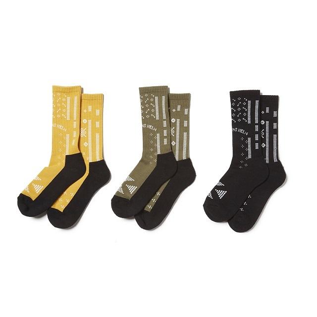 CAPTAINS HELM #Bandana Socks