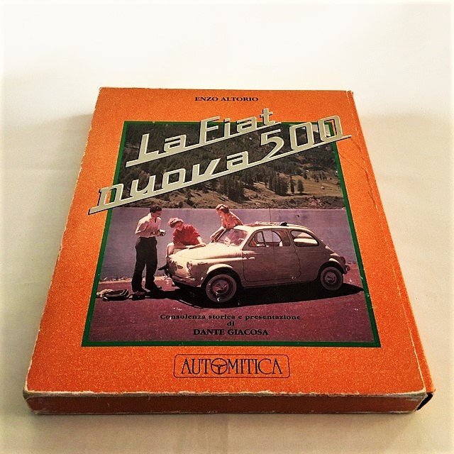 La Fiat nuova 500 Enzo Altorio【一冊のみ】【Used books】【税込価格】