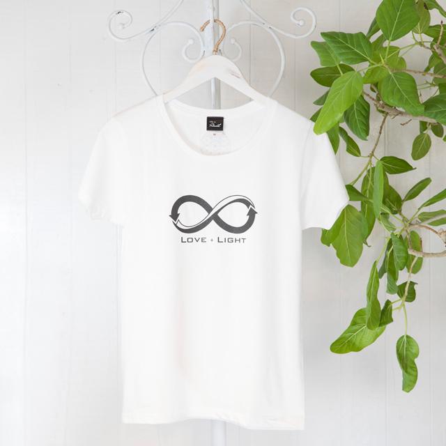 高次元波動Tシャツ インフィニティー白