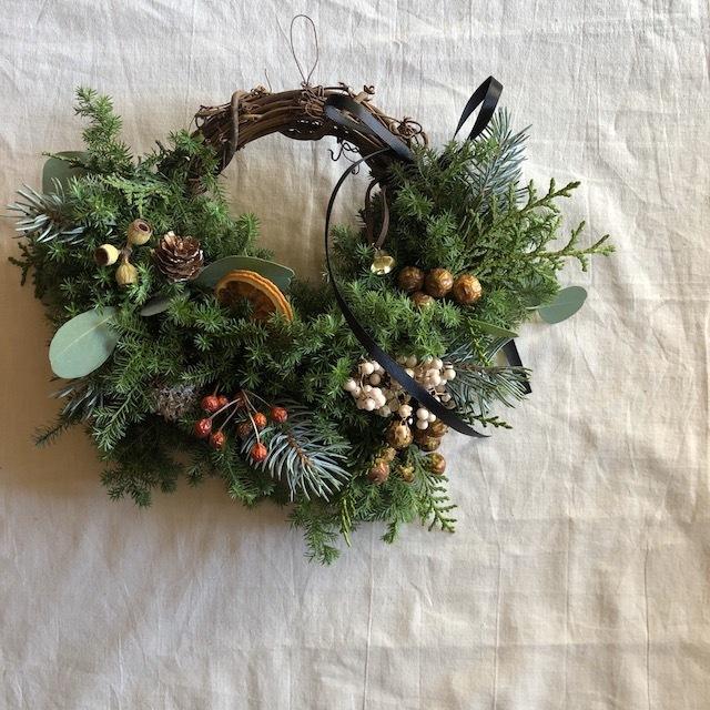 hiba Christmas wreath クリスマスリース