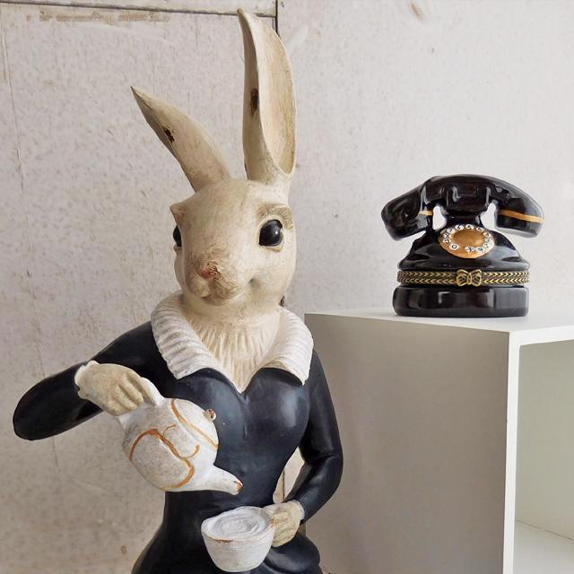 (85)  コベントガーデン メイドラビット うさぎの置物 ウサギ オブジェ