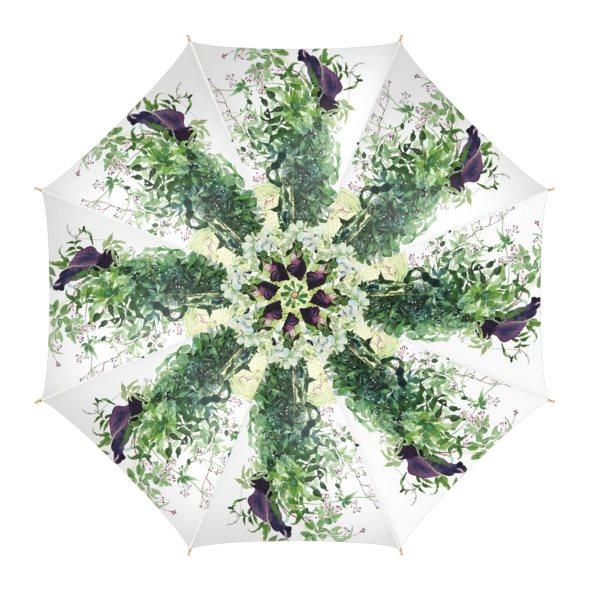 【受注生産】永遠の愛を誓った日の雨傘 スタイルB