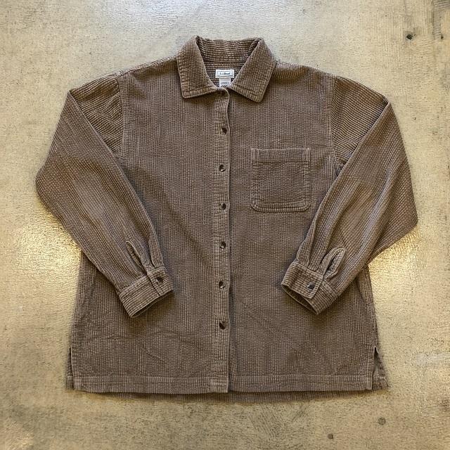 LLbean Corduroy Shirt #04
