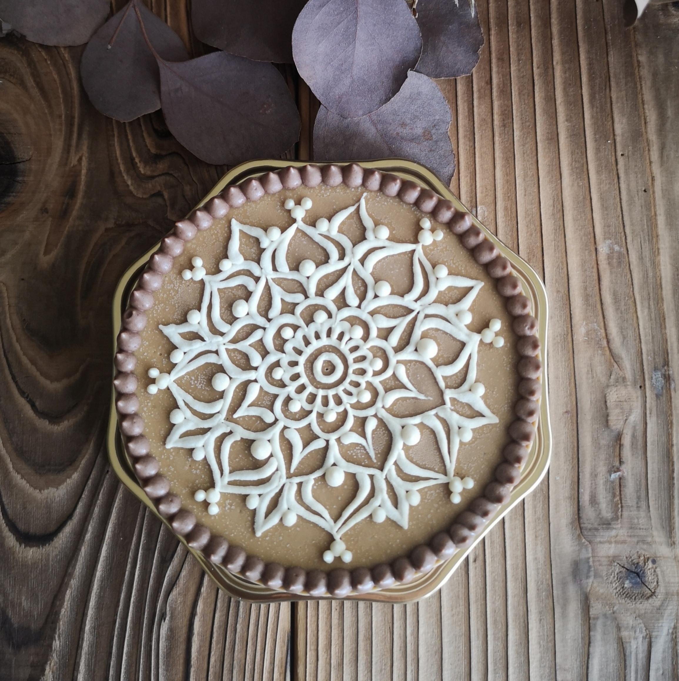 Mandala Cafe Mocha Raw Cake  SSサイズ(12㎝ 約6名様分)
