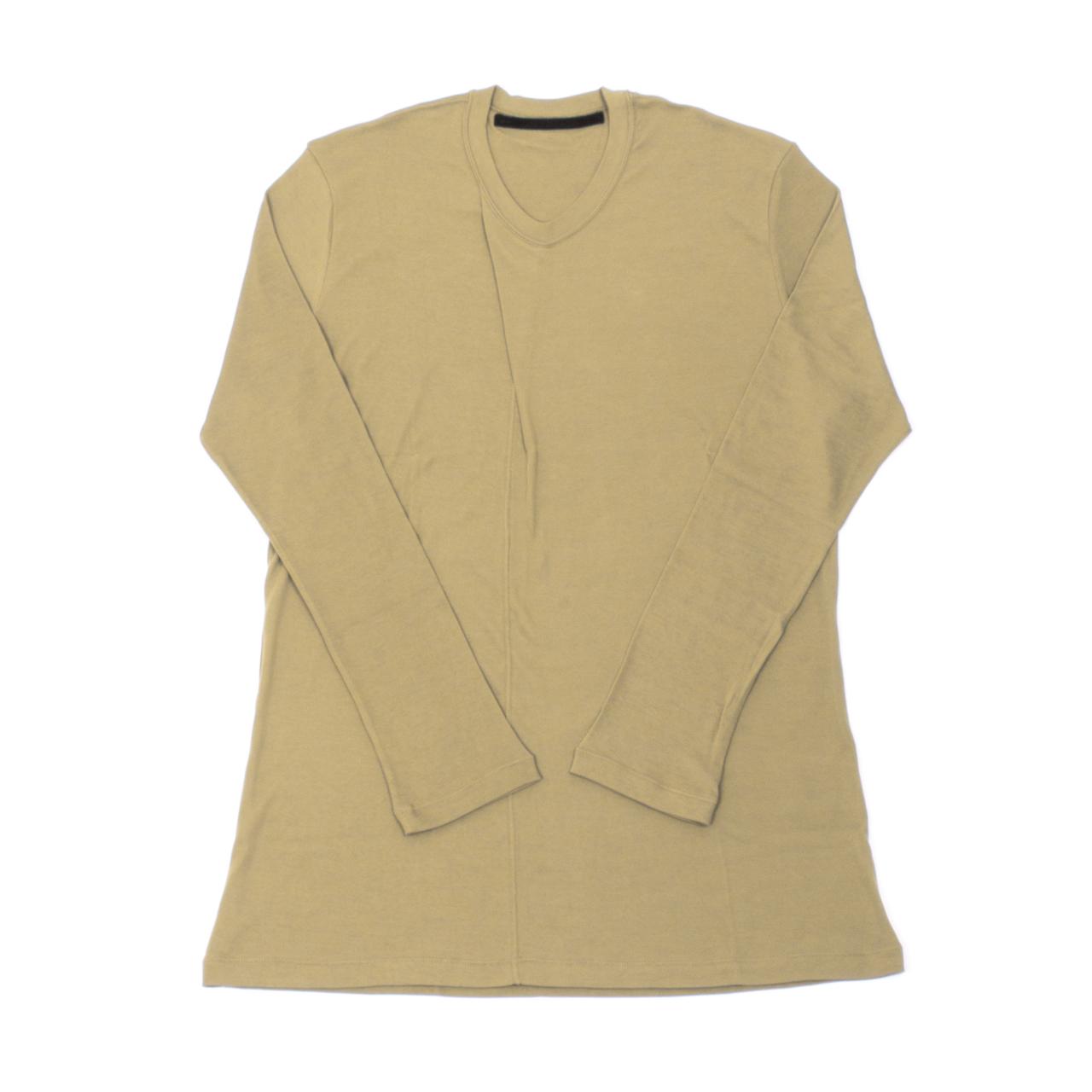 707CUM5-SAND / カラータック ロングスリーブ Tシャツ