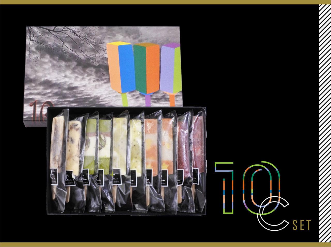 JOTAROアイスバー 5種 10本入Cセット
