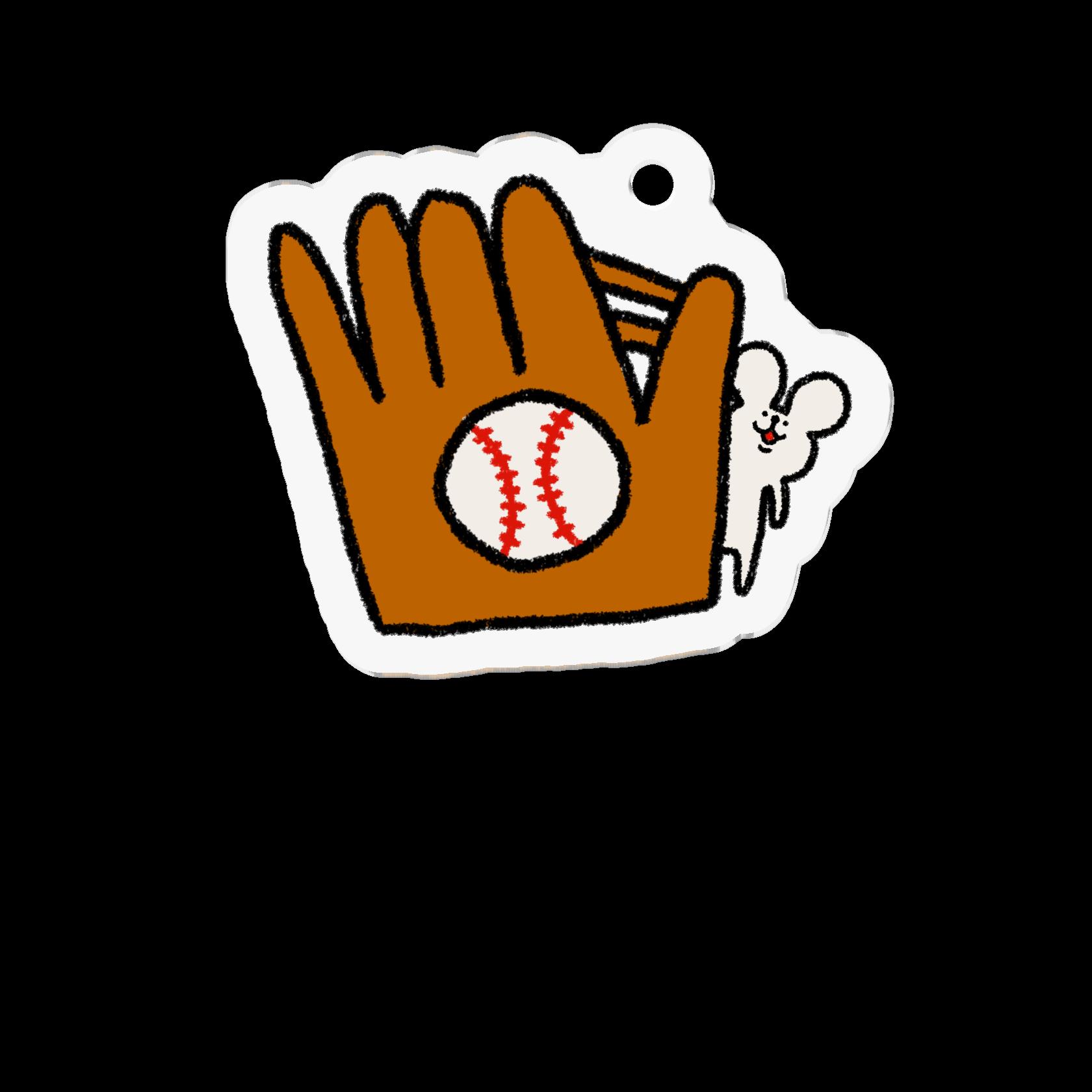 アクリルキーホルダー|野球しようや!