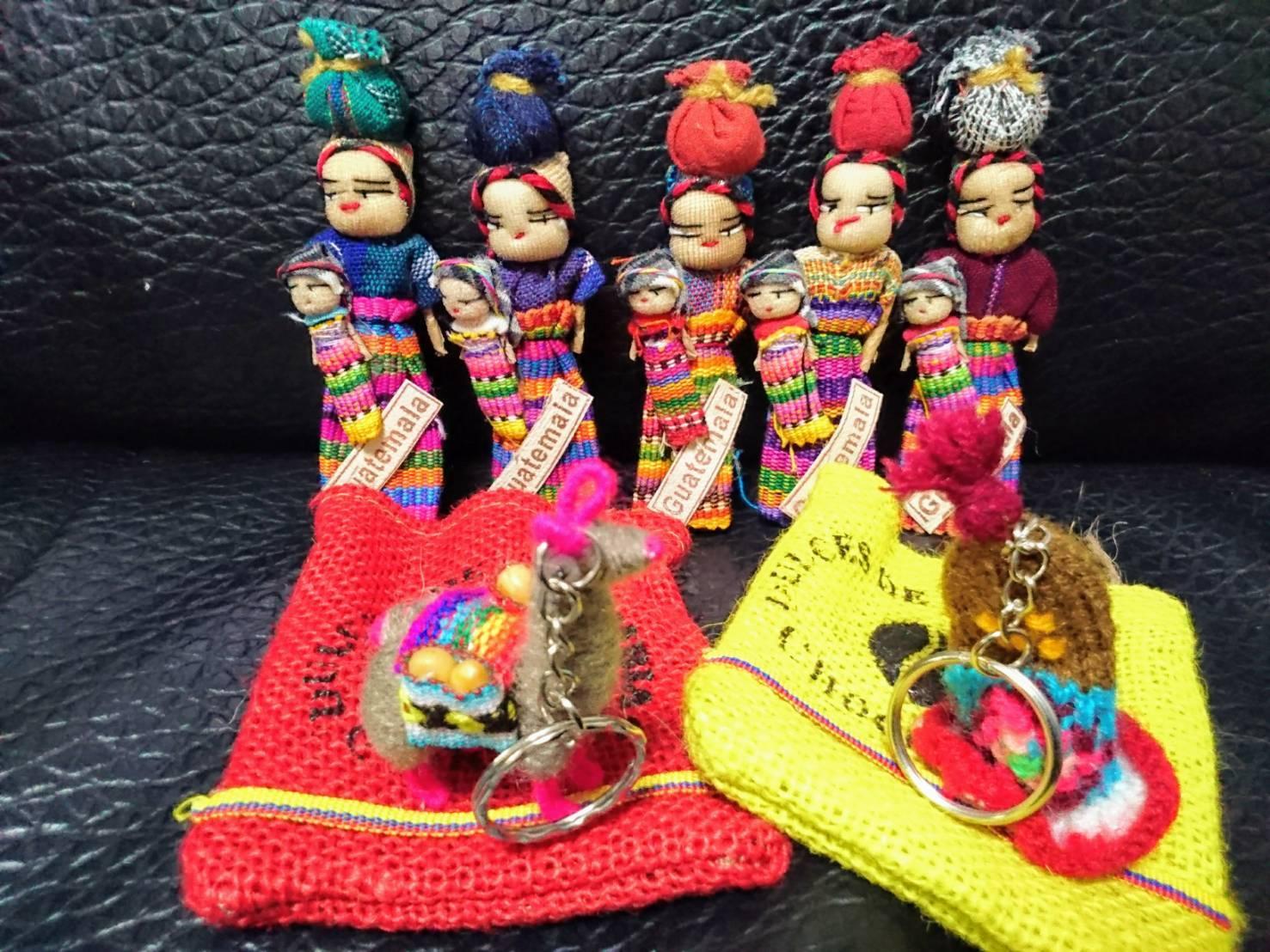 お土産品9点セット20(ペルー・グアテマラ)