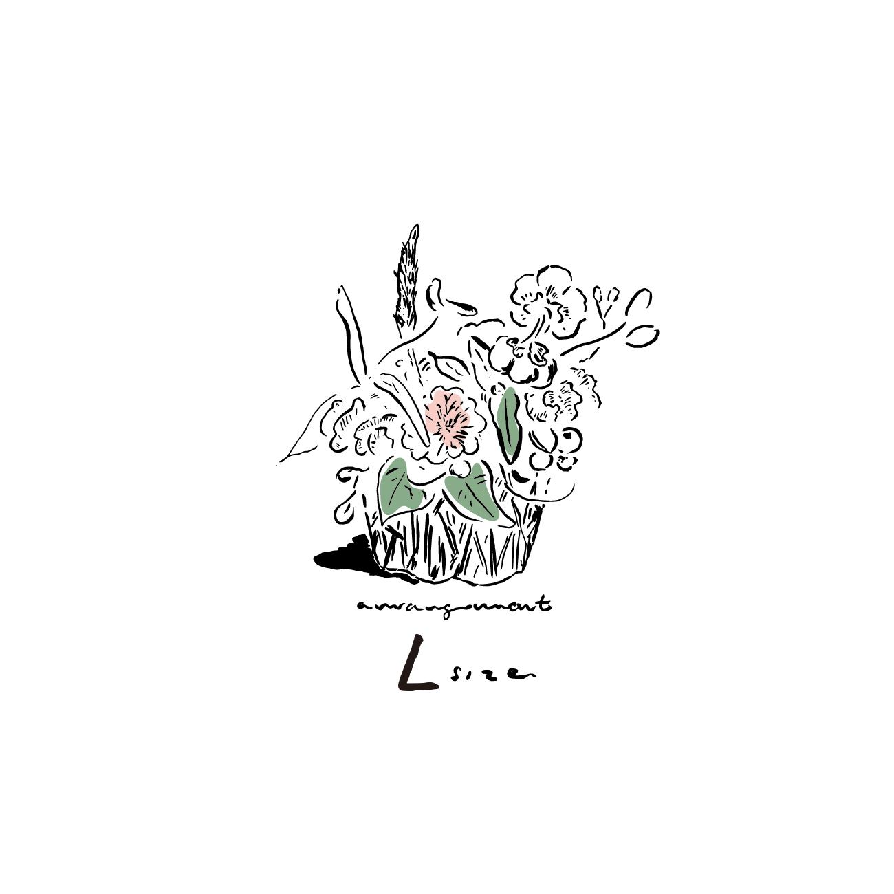 <ORDER MADE>FLOWER ARRANGEMENT:L