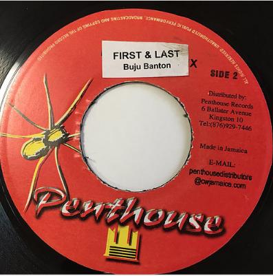 Buju Banton(ブジュバントン) - First And The Last【7'】