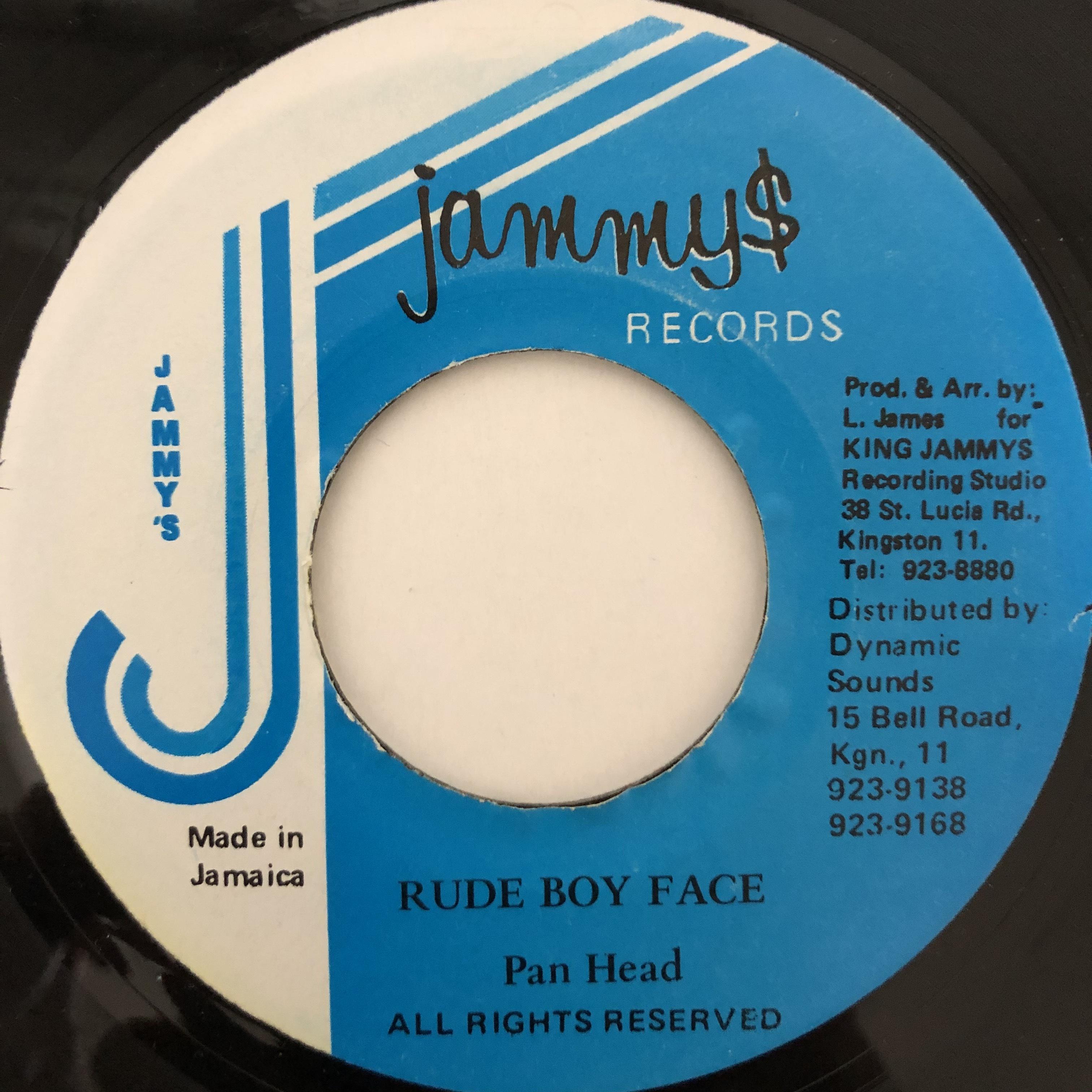Pan Head - Rude Boy Face【7-20471】