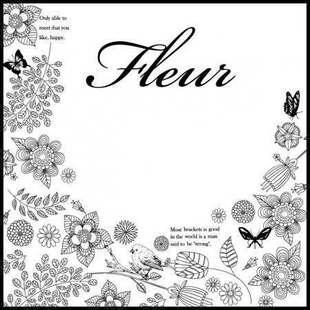 fleur(フルール)転写紙