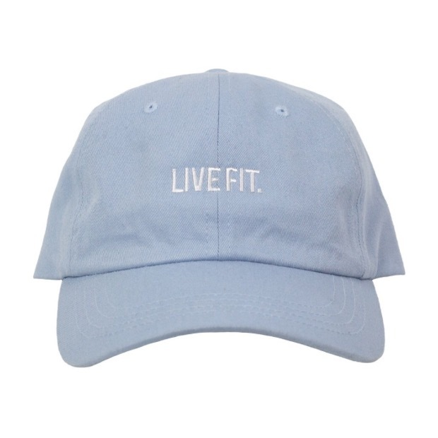 LIVE FIT Cap- Baby Blue