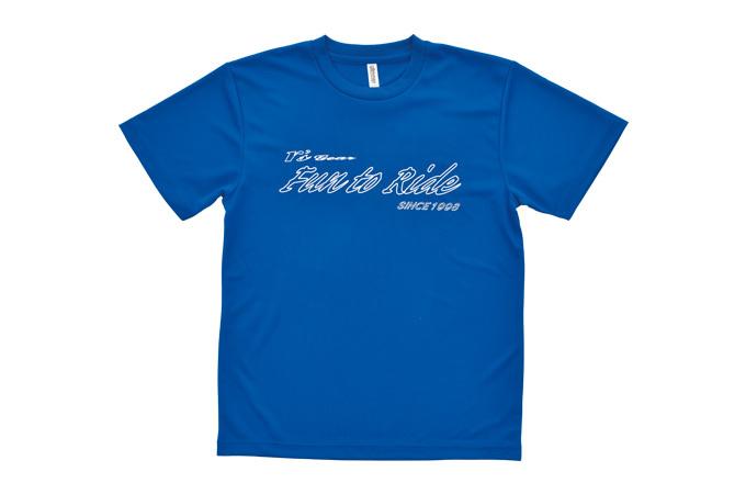 アールズ・ギア オリジナルTシャツ ブルー Mサイズ[0101-02BU-0M]